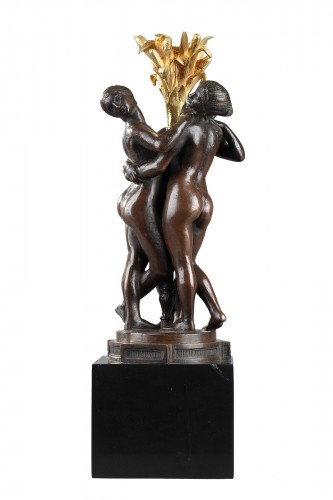 Les Grâces - Antoine-Louis BARYE (1796-1875)