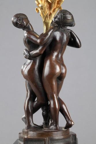 Les Grâces - Antoine-Louis BARYE (1796-1875) - Sculpture Style Napoléon III