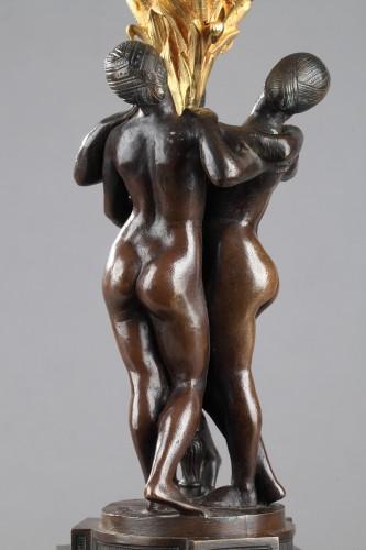 Sculpture  - Les Grâces - Antoine-Louis BARYE (1796-1875)