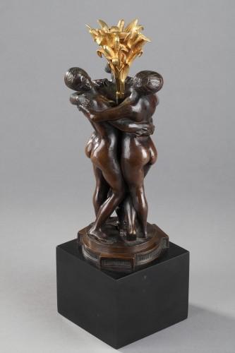 19th century - Les Grâces - Antoine-Louis BARYE (1796-1875)