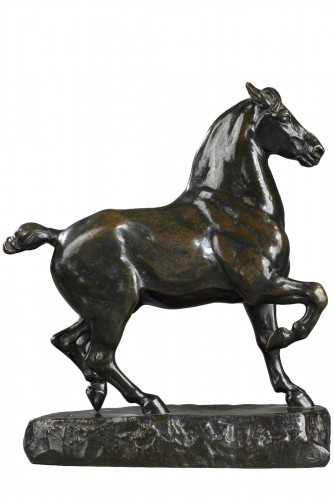 Cheval Percheron - Antoine-Louis BARYE (1796-1875)