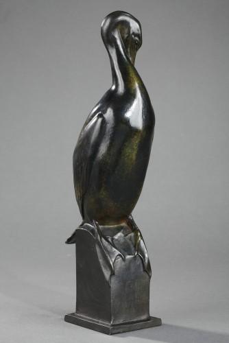 Sculpture  - Cormorant - Auguste TREMONT (1892-1980)