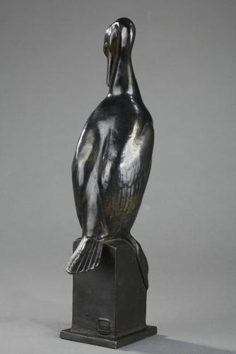 20th century - Cormorant - Auguste TREMONT (1892-1980)