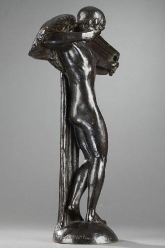 Sculpture  - Icarus - René ANDREI (1906-1987)