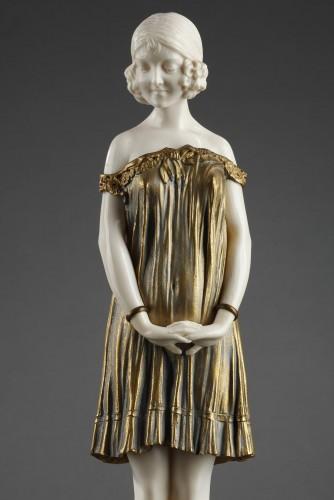 Innocence, large size - Demetre Chiparus (1886-1947) - Sculpture Style Art Déco