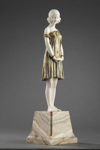 Sculpture  - Innocence, large size - Demetre Chiparus (1886-1947)