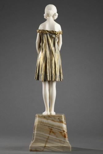 20th century - Innocence, large size - Demetre Chiparus (1886-1947)