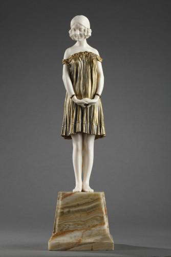 Art Déco - Innocence, large size - Demetre Chiparus (1886-1947)