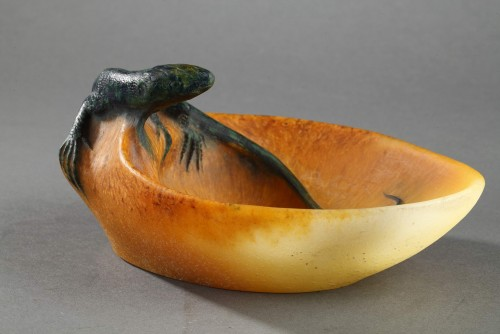 Pin Tray with a Lizard - Almaric Walter (1870-1959) -