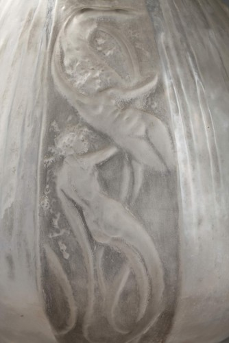 """Glass & Crystal  - Decanter """"Sirens and Frogs"""" - René LALIQUE (1860-1945)"""