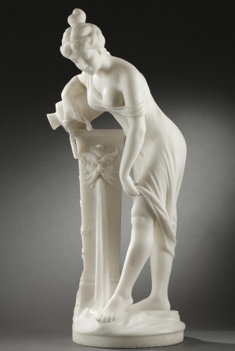 Woman at the Fountain - Fanfani SAUL (1856-1919) - Art nouveau