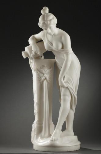 Antiquités - Woman at the Fountain - Fanfani SAUL (1856-1919)