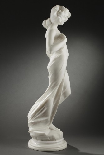 Sculpture  - Summer - A. BATACCHI (19th-20th c.)