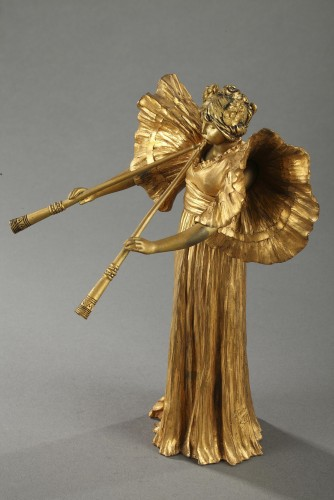 Piper player - Agathon LEONARD (1841-1923) -