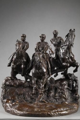 Steeple-chase - Eugène LANCERAY (1848-1886) -