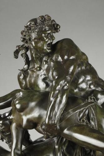 L'Enlèvement d'Hippodamie - Albert-Ernest CARRIER-BELLEUSE (1824-1887) - Sculpture Style Napoléon III