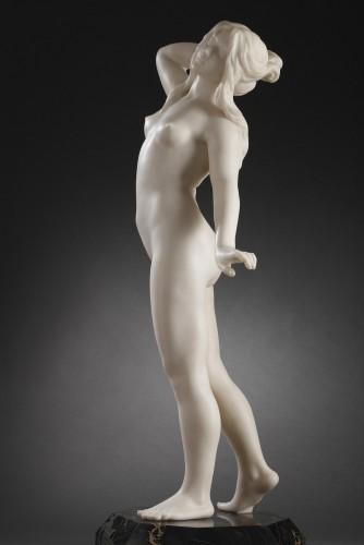 Dawn - Dominique ALONZO (active between 1912 and 1926) - Sculpture Style Art nouveau