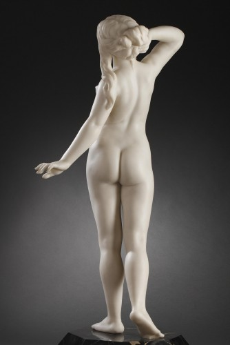 Sculpture  - Dawn - Dominique ALONZO (active between 1912 and 1926)
