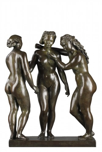 The Three Graces - Alfred JANNIOT (1889-1969)