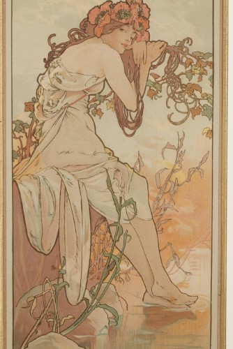 The Seasons - Alphonse Mucha (1860-1939) -