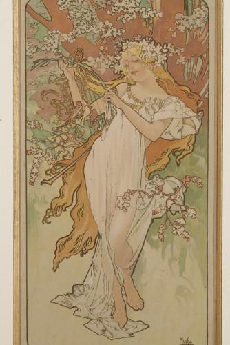 19th century - The Seasons - Alphonse Mucha (1860-1939)