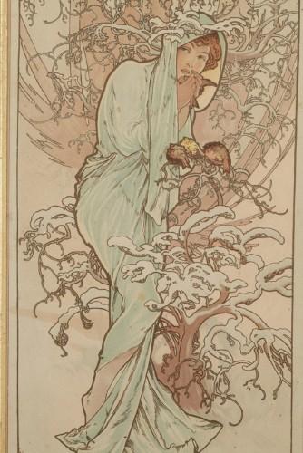 The Seasons - Alphonse Mucha (1860-1939) - Art nouveau