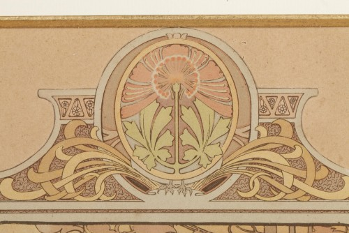 Art nouveau - The Seasons - Alphonse Mucha (1860-1939)
