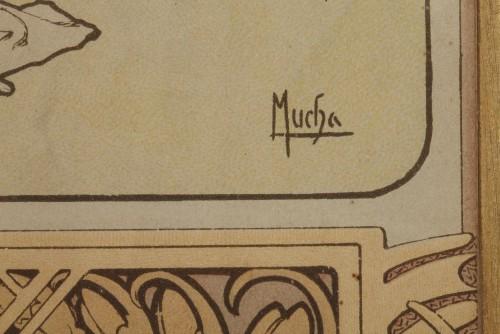 Antiquités - The Seasons - Alphonse Mucha (1860-1939)