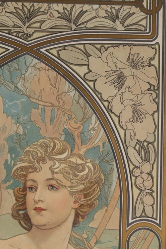 The Times of Day - Alphonse Mucha (1860-1939) -