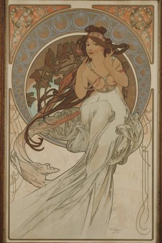 Music - Alphonse Mucha (1860-1939)