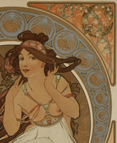 Engravings & Prints  - Music - Alphonse Mucha (1860-1939)