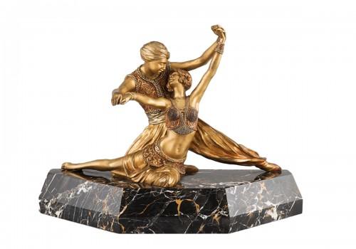Oriental Dancers - Claire-Jeanne-Roberte COLINET (1880-1950)