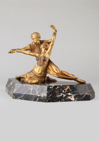 Oriental Dancers - Claire-Jeanne-Roberte COLINET (1880-1950) -