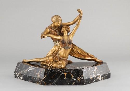 Art Déco - Oriental Dancers - Claire-Jeanne-Roberte COLINET (1880-1950)