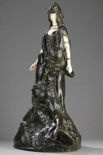 """Salammbo at Matho, I love you ! I love you"" - Théodore RIVIERE (1857-1912) -"