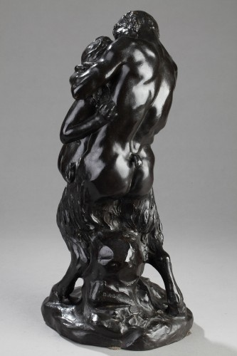 The Kiss - Aimé-Jules DALOU (1838-1902) -
