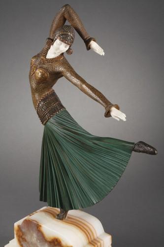 Ayouta - Demetre Chiparus (1886-1947) - Sculpture Style Art Déco