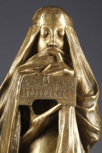 The Secret - Pierre-Félix FIX-MASSEAU (1869-1937) - Sculpture Style Art nouveau