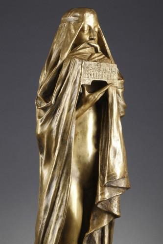 Sculpture  - The Secret - Pierre-Félix FIX-MASSEAU (1869-1937)