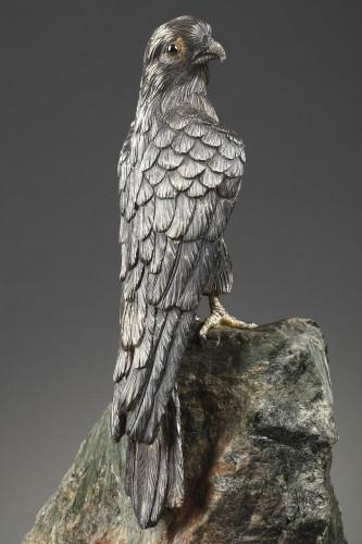 Sculpture  - Hawk - Lasbleiz Fournier Vitiello