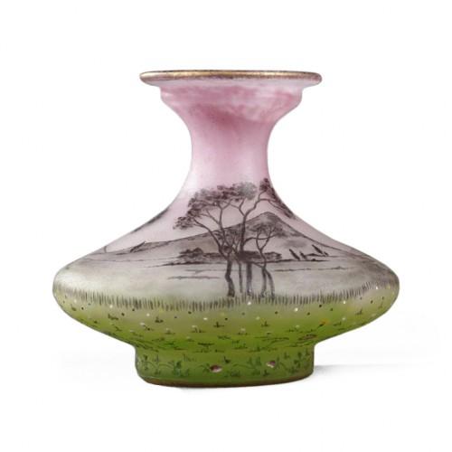 """Vase """"La Prairie"""" - Daum"""