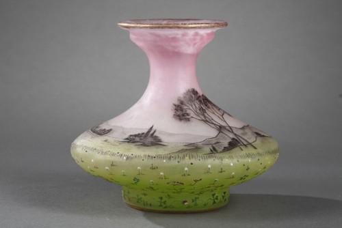 """Vase """"La Prairie"""" - Daum -"""