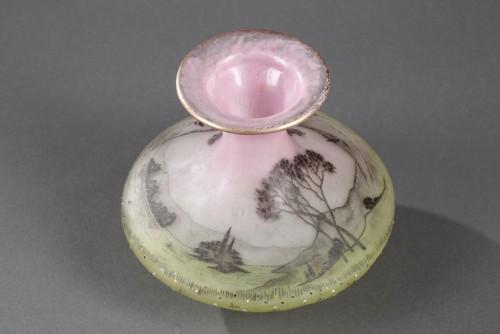 """20th century - Vase """"La Prairie"""" - Daum"""