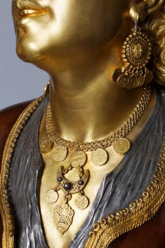Bust of an Oriental Woman - Emile GUILLEMIN (1841-1907) - Napoléon III