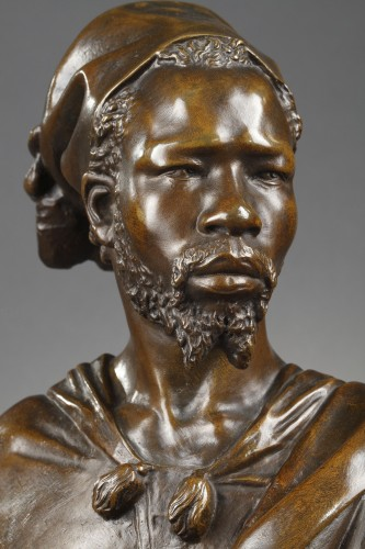 The Nubian - CORDIER Charles (1827-1905) - Sculpture Style Napoléon III