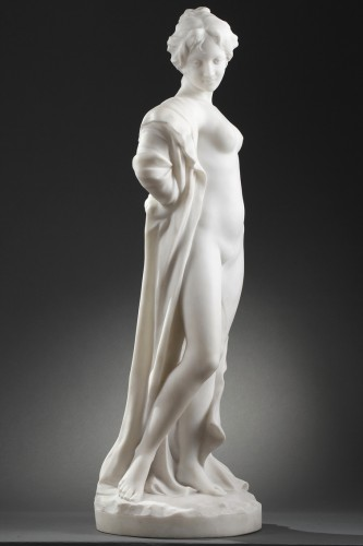 After the bath - Edouard FORTINI (né en 1862) - Art nouveau