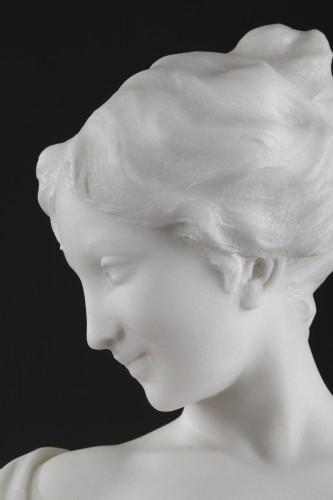 Antiquités - After the bath - Edouard FORTINI (né en 1862)