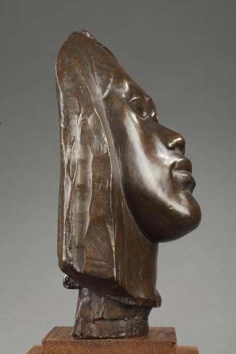 Sculpture  - Tahitian head - Paul GAUGUIN (1848-1903)