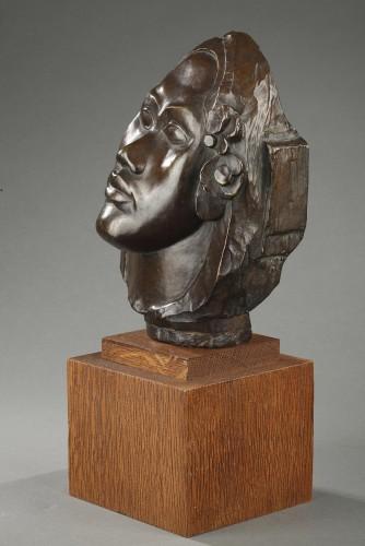 Tahitian head - Paul GAUGUIN (1848-1903) -