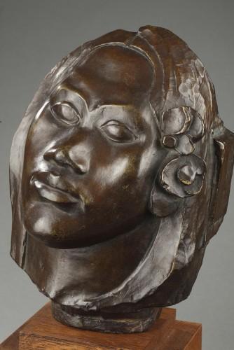 - Tahitian head - Paul GAUGUIN (1848-1903)